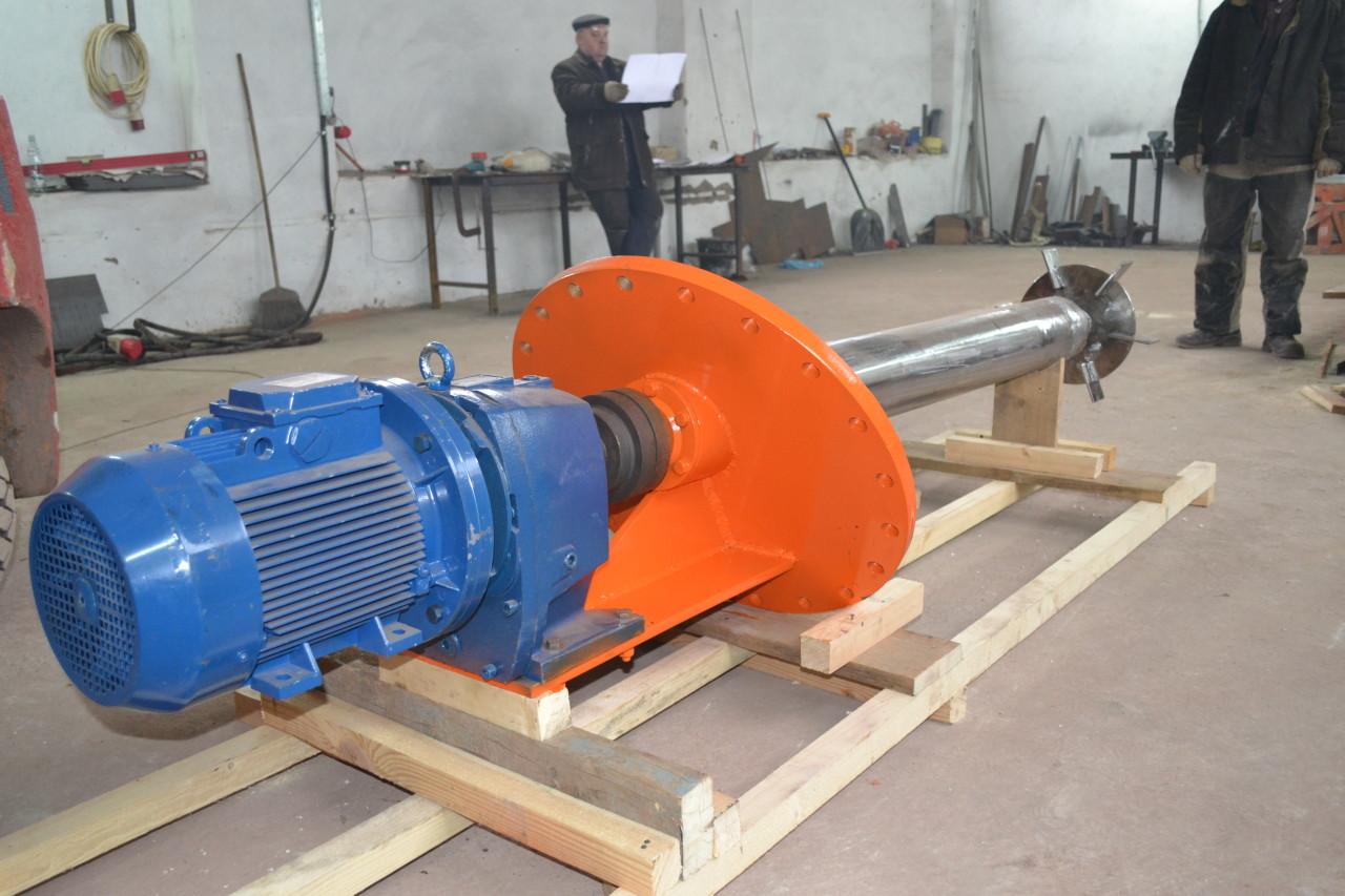 Мешалка турбинная МТ-400-355-7,5-380В-ст3