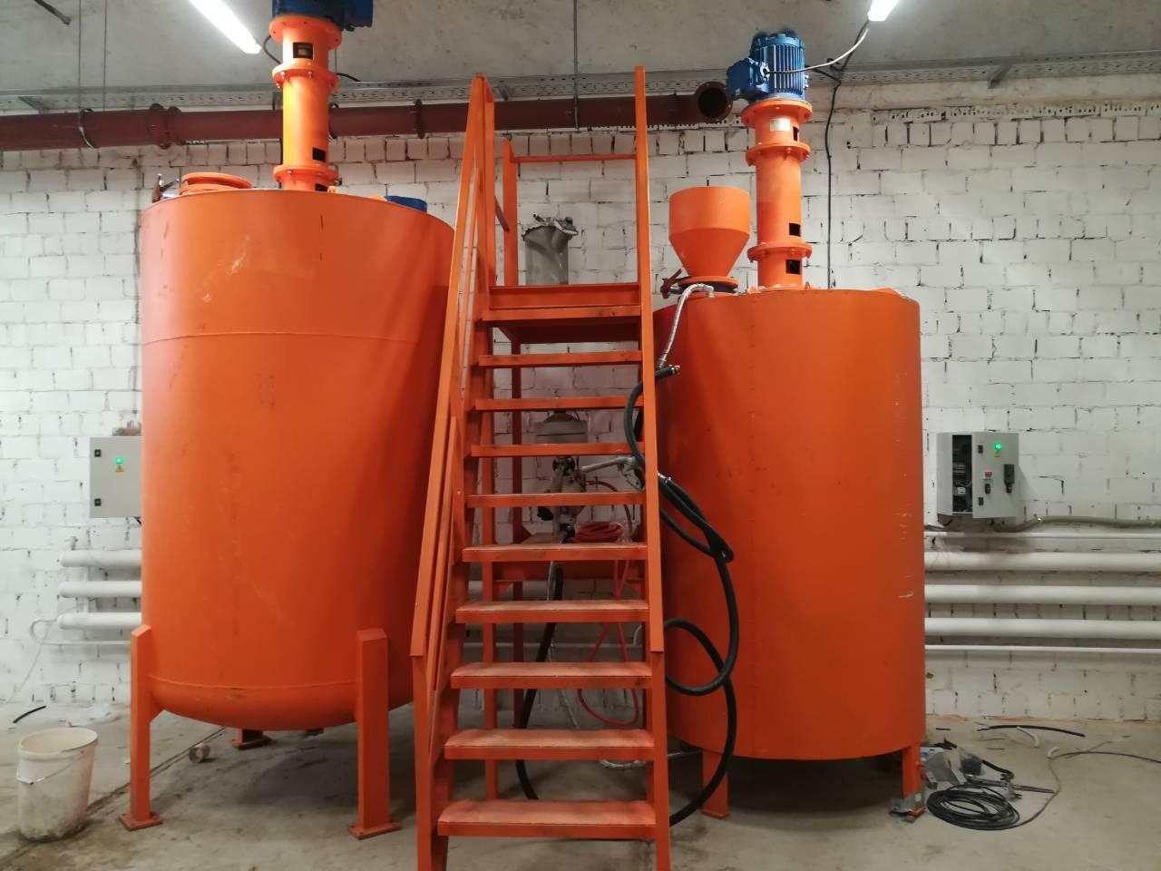 Завод «Тульские Машины» поставил фрезерные мешалки в Ленинградскую область