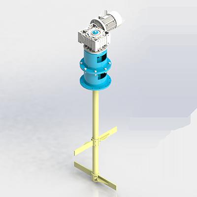 Мешалка лопастная МЛ – 2/2 – 700 – 2,2 – 90 – 380В – ст. 20
