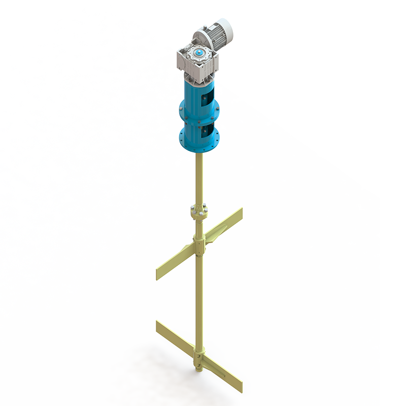 Лопастной мешалки МЛ – 22 – 1100 – 2,2 – 56 – 380В – ст. 3